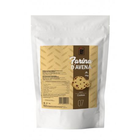 Farina Di Avena Aromatizzata Cioccolato Belga - Dilo Farina 1000g