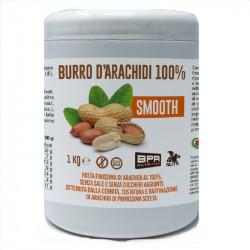 Burro D'Arachidi 100% SMOOTH 1kg