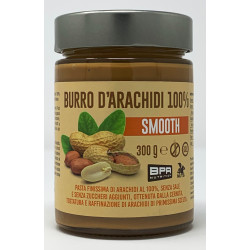 Burro D'Arachidi 100% SMOOTH 300g