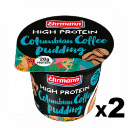 High Protein Pudding Caffè di Colombia 200g