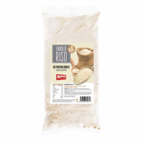 Farina di Riso Pregelatinizzata 1Kg - NOCCIOLOSO