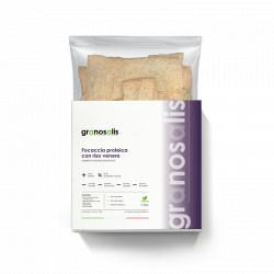 Focaccia Proteica - riso venere